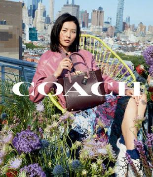 中国超模刘雯成COACH全新中国区代言人
