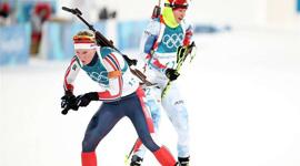 冬季两项—越野滑雪和射击的结合